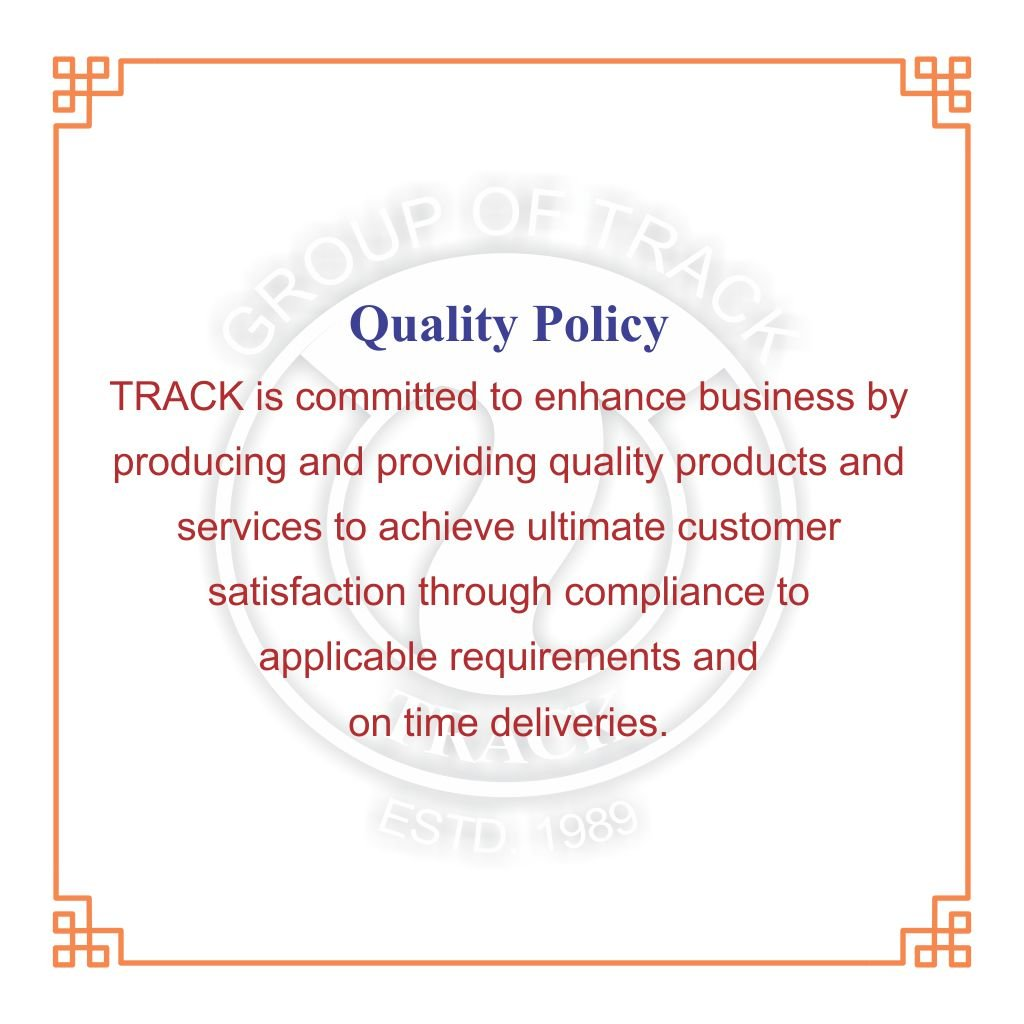 TRACK QUALITY POLICY